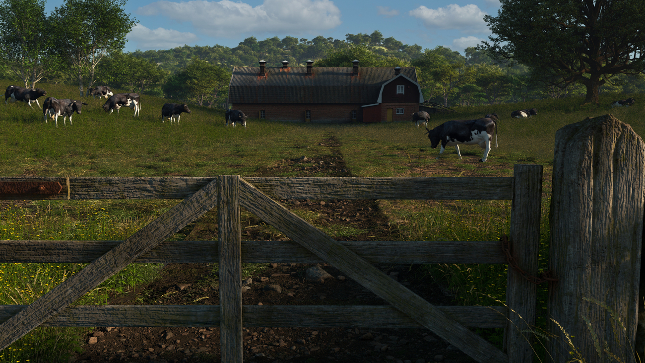 Cows by iborg64