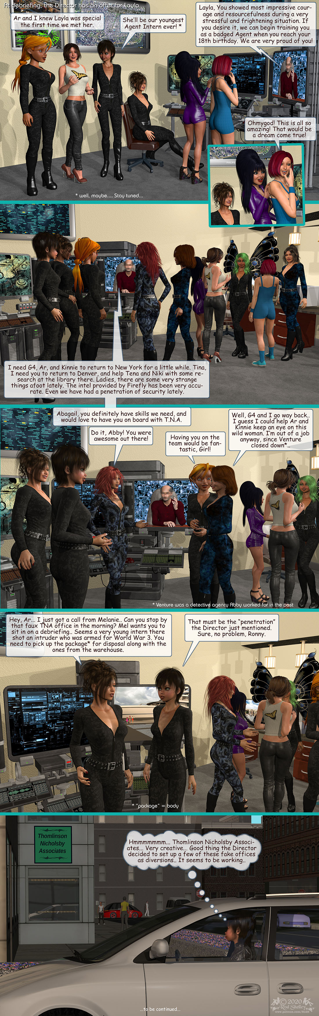 Girls From T.N.A: Breitlenger Jar: Ch 7 Page 20