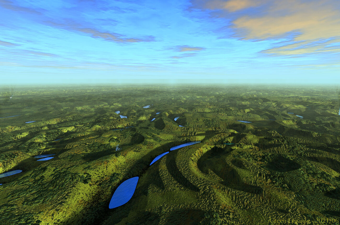 Green Expanse by BryceHoro