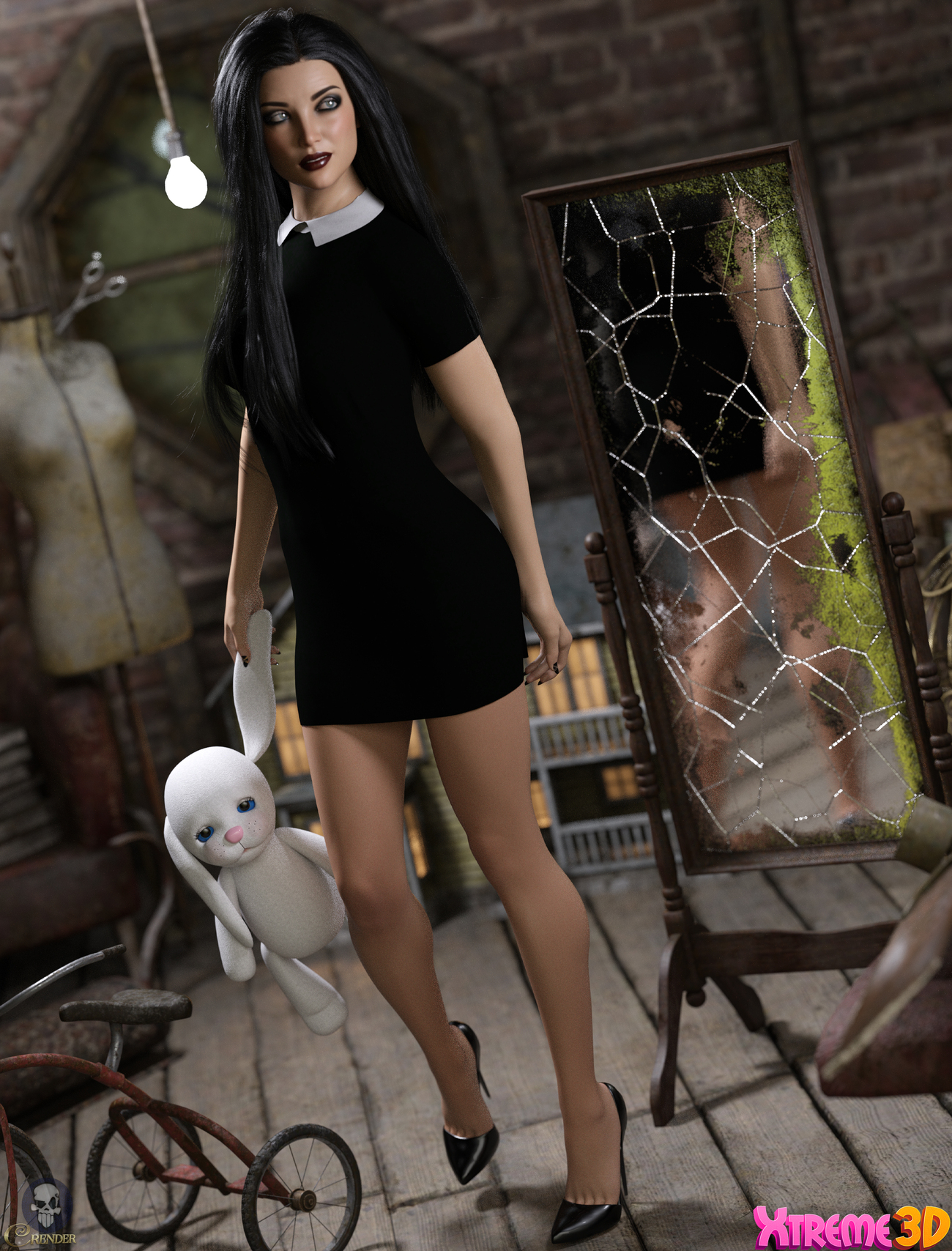 Dforce Mysterious and Spooky G8F by Kaleya 2 by crender