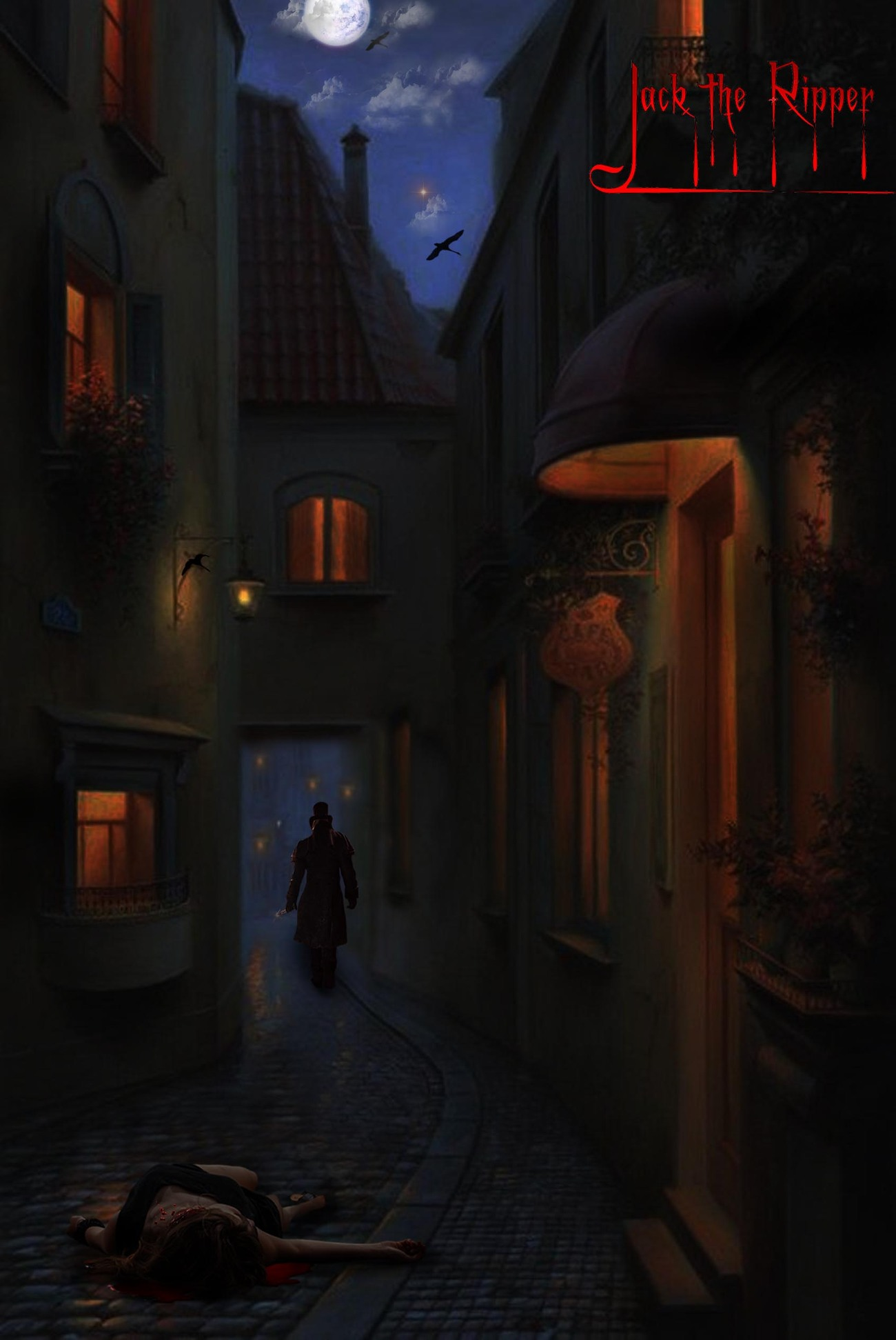 Jack The Ripper by adrie