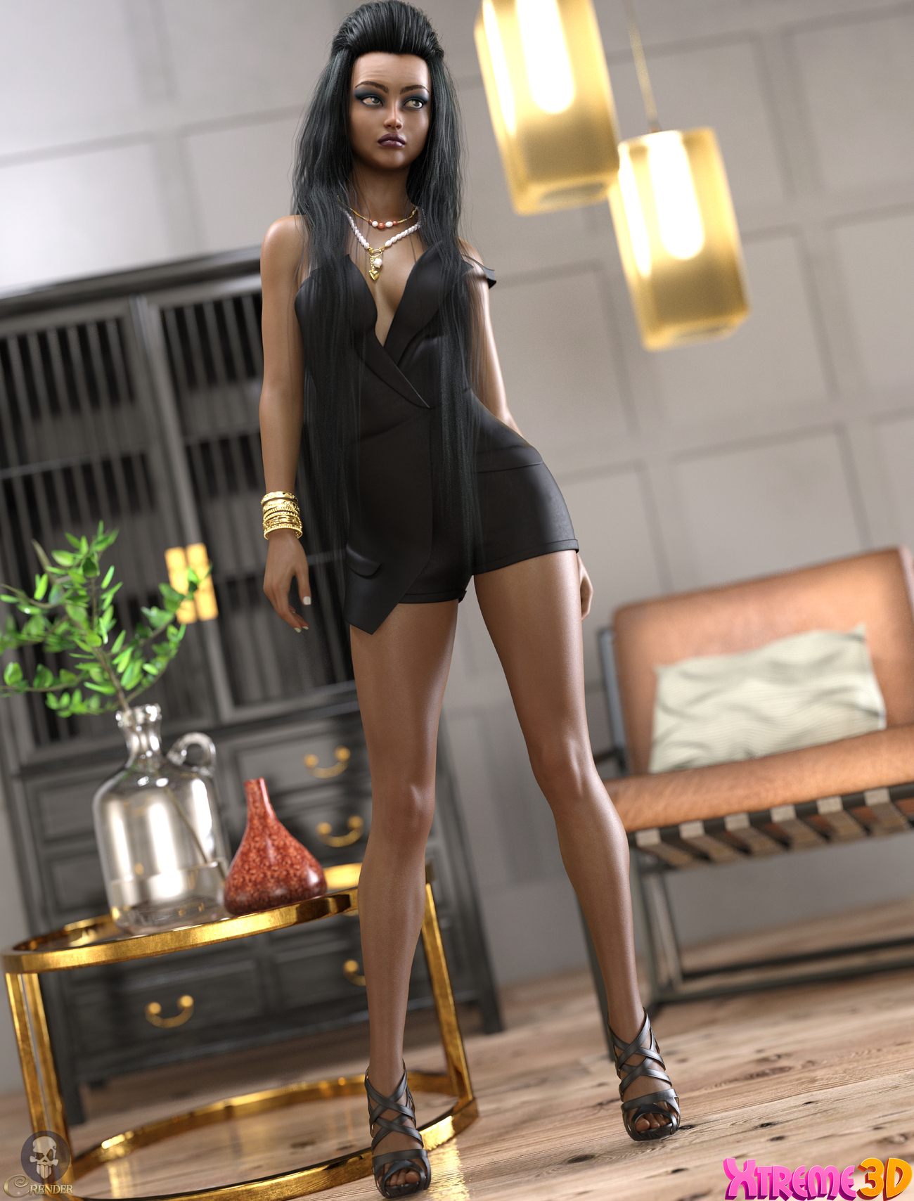dForce Gina Outfit for G8.1F by Arryn by crender