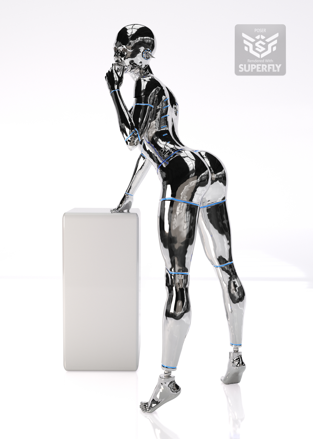 Sexy Robot 02 by NobbyC