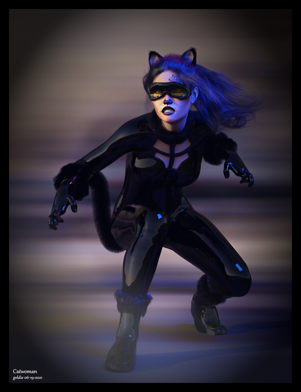 Catwomam by goldie