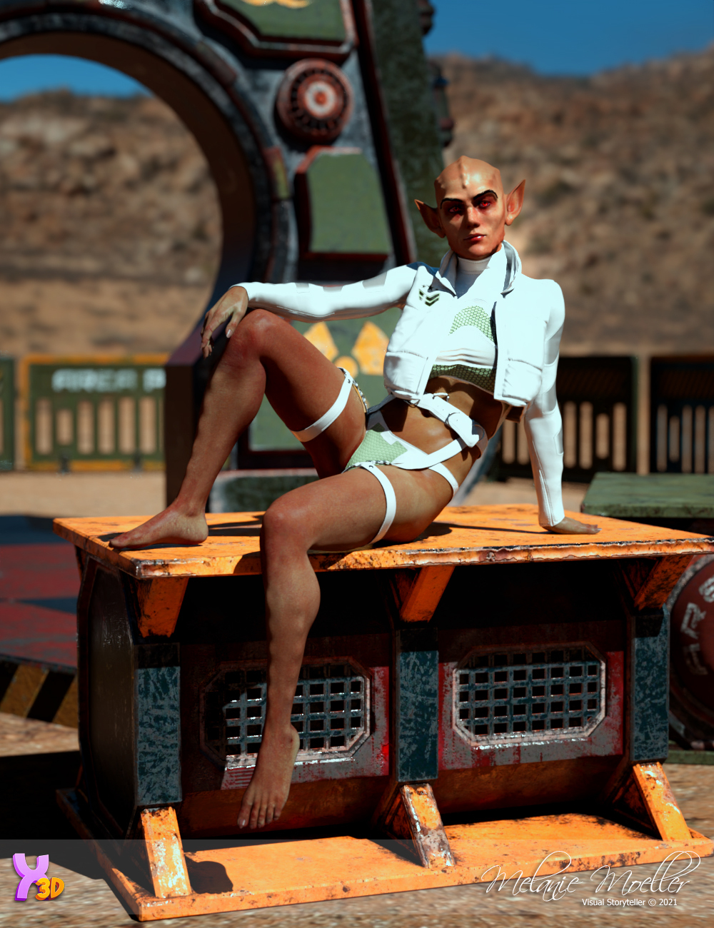 Licia for Fefecoolyellow by Nyala