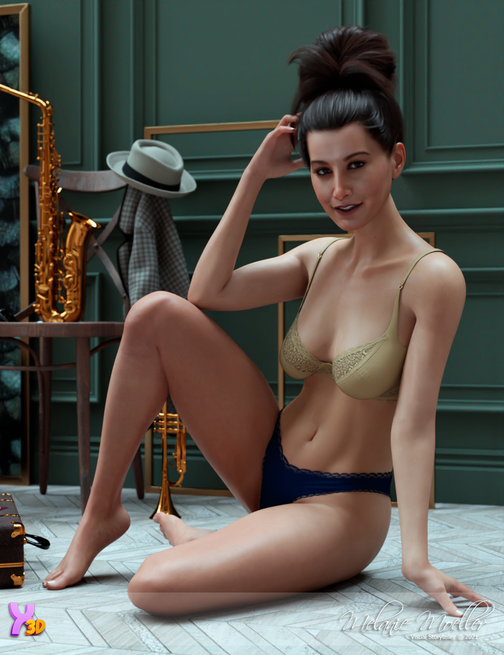 Eliza for Xtrart-3d by Nyala