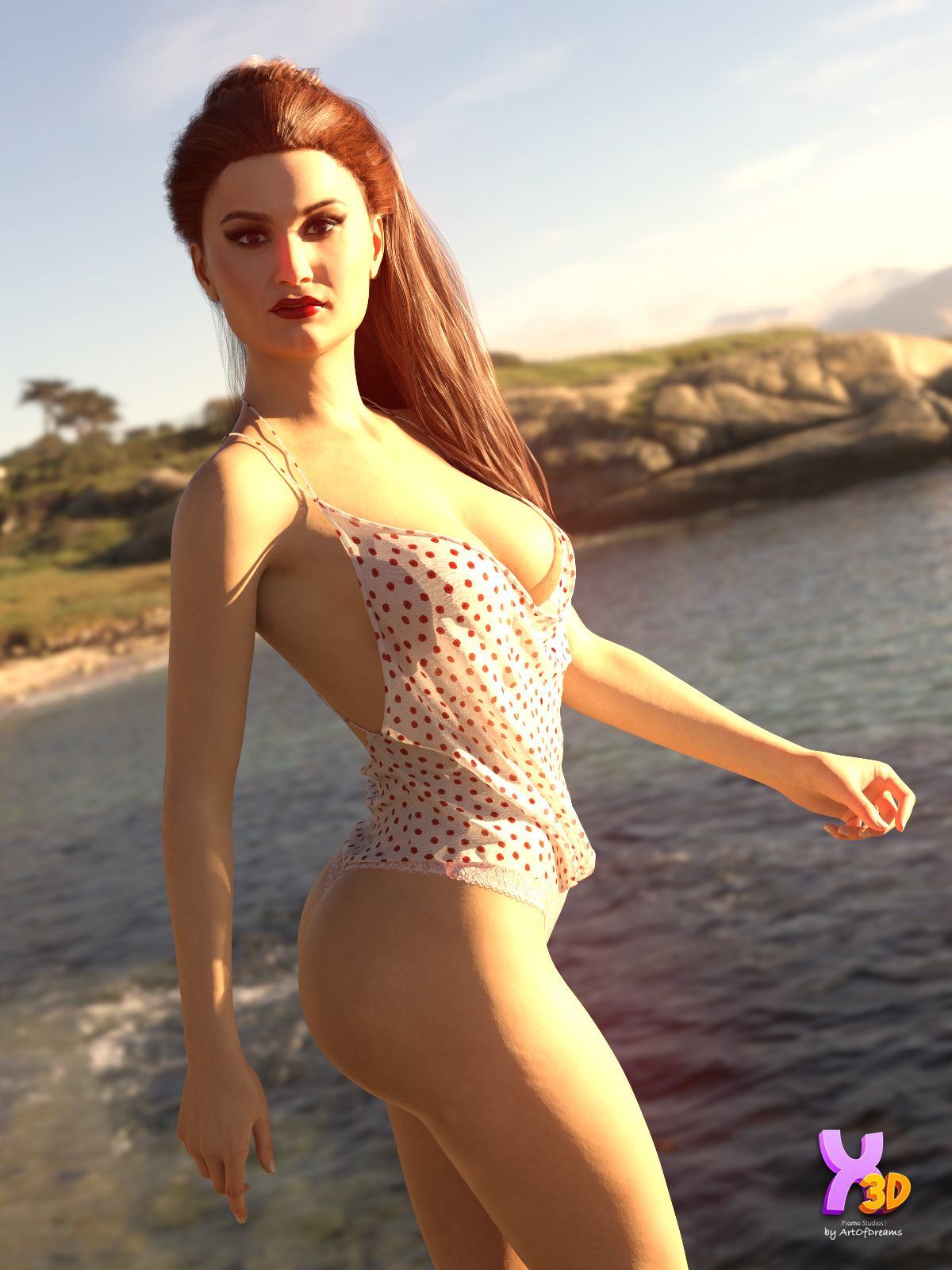 V3D Cassandra for G8F by Vicey3D by ArtOfDreams