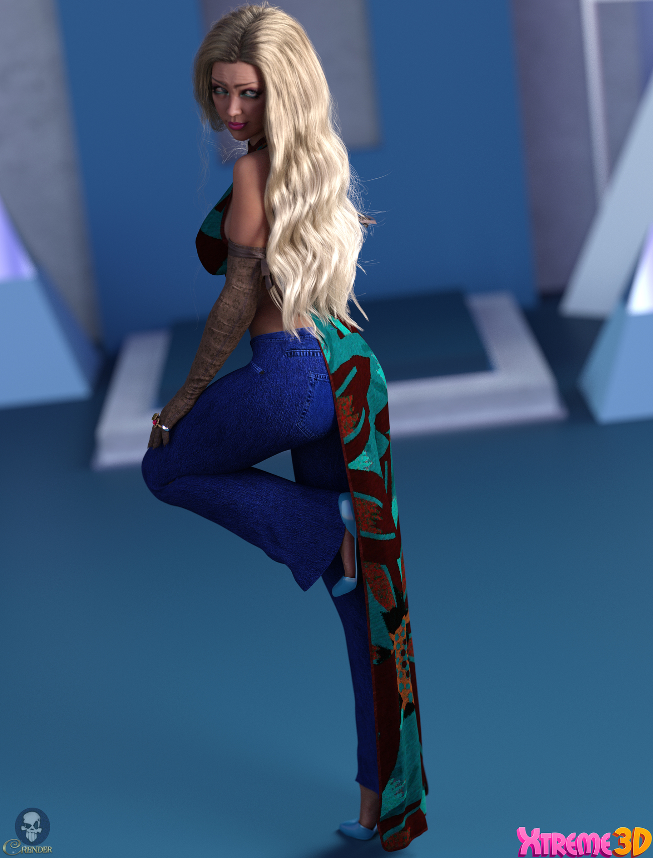 dforce Janis for G8F and G8.1F by Kaleya by crender