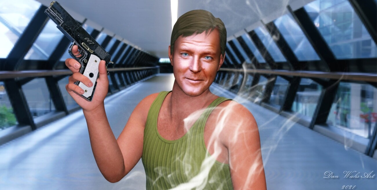 RODGER MOORE 007 by rocdan
