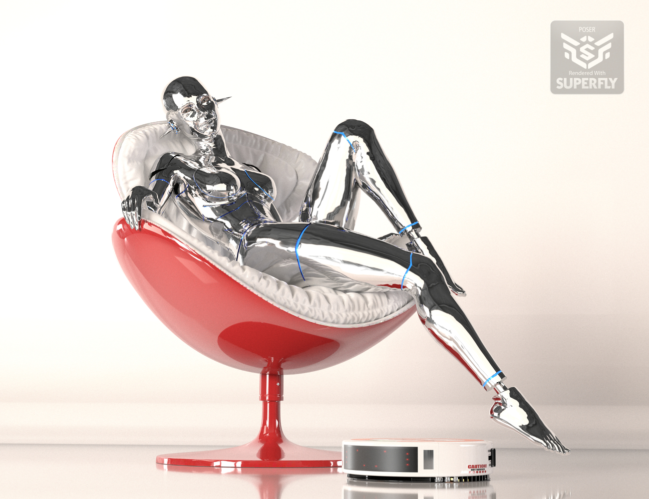 Sexy Robot 04 - for Alain by NobbyC