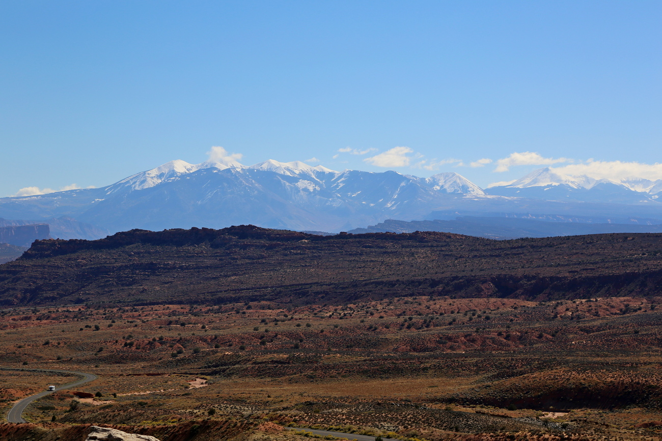 snow capped mountains by Richardphotos