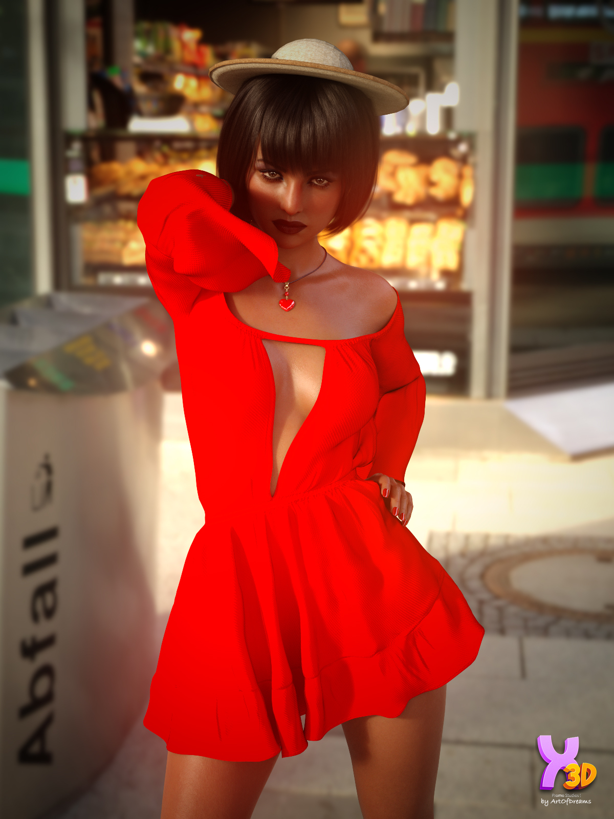 X-Fashion The Summer Dress Outfit for G8F by Xtrar