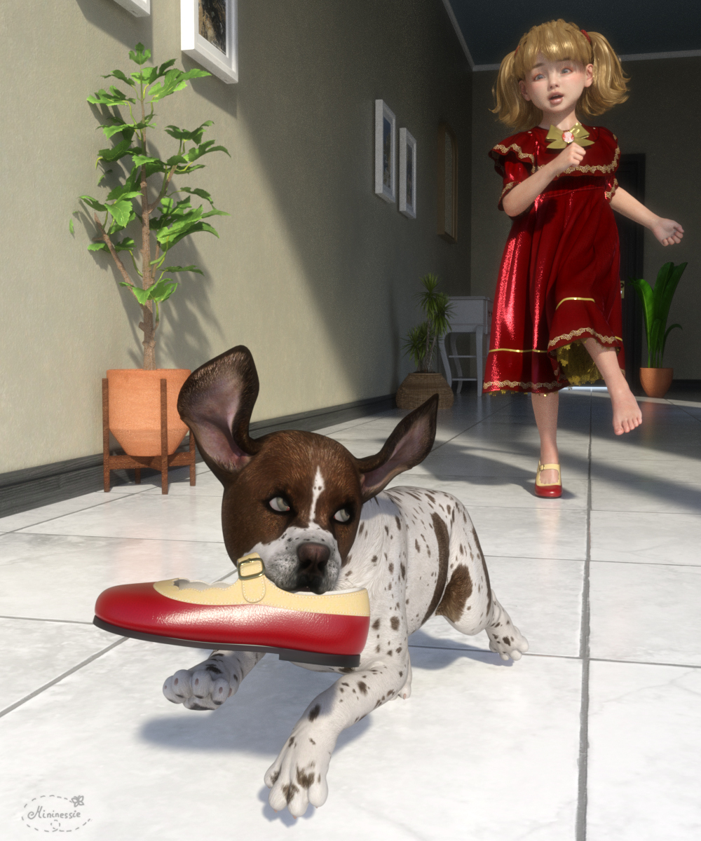 Give my shoe back for elleque by mininessie