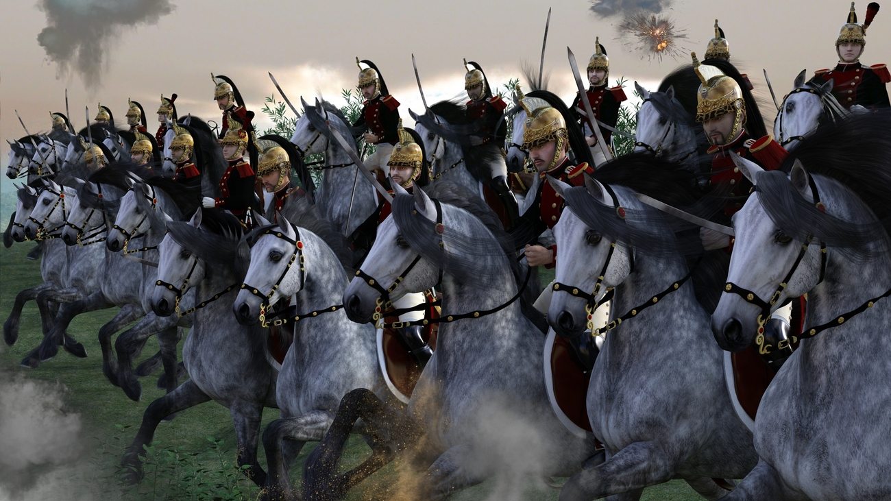 Charge of French Dragoons
