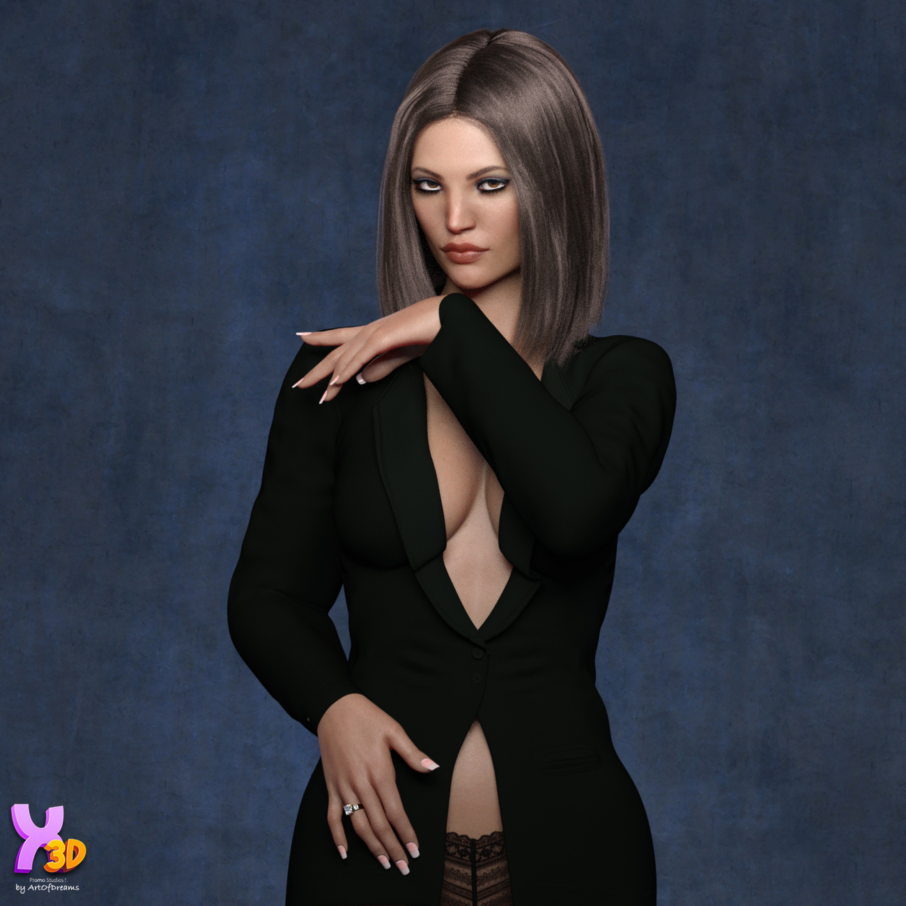 Wild Short Hair for G8F and G8.1F by Hameleon &