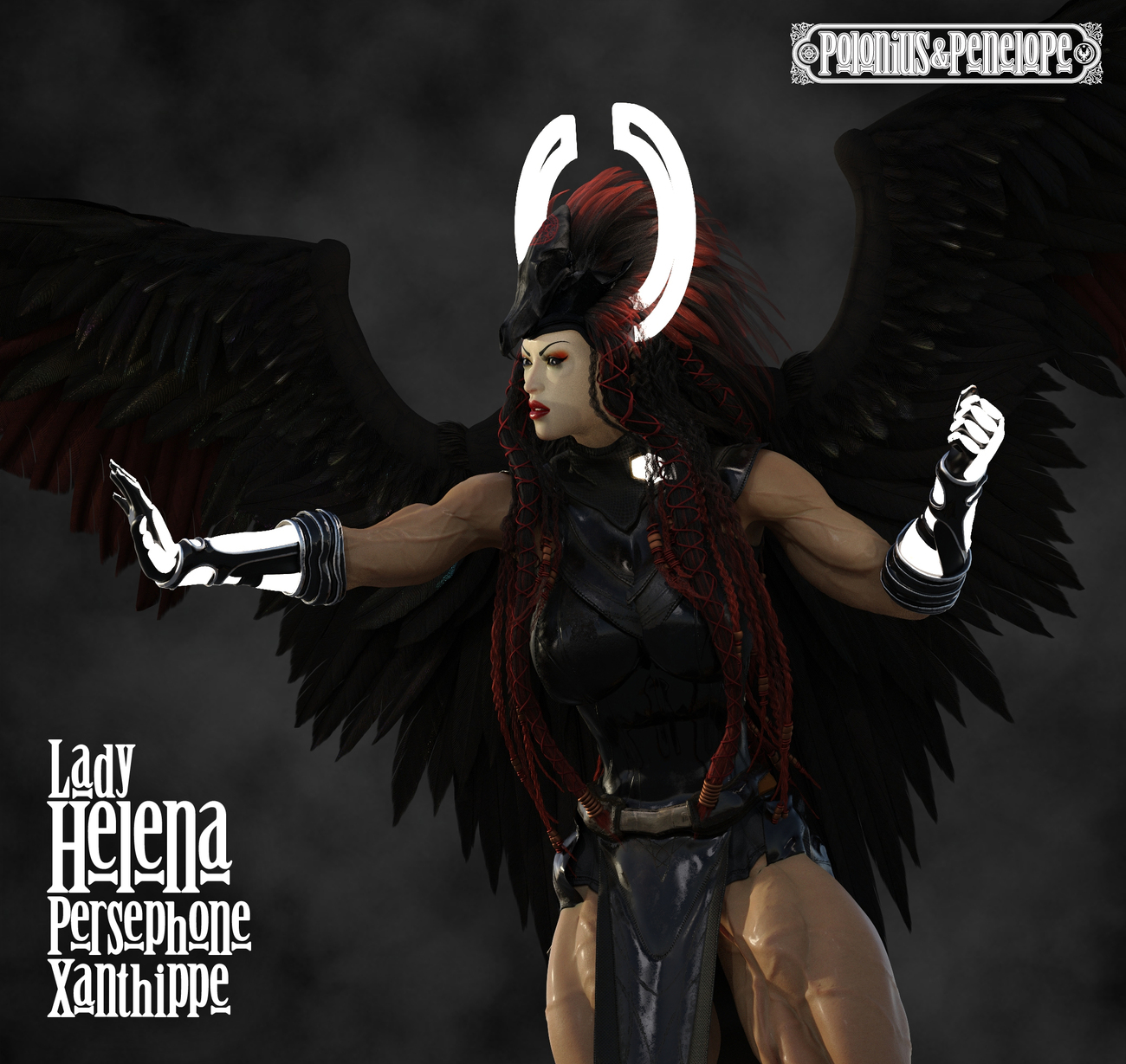 Lady Xanthippe and Twilight's Wake Highlight 3 by PoloniusN