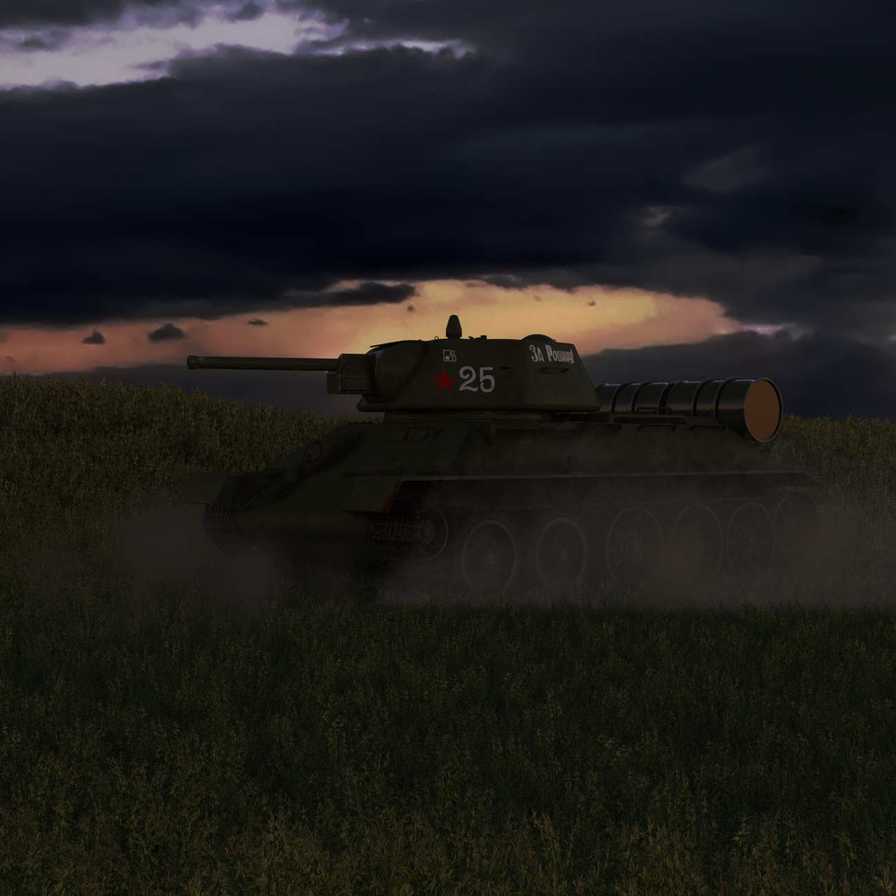 Ultimate T-34 + Turrets 76 mm -8-