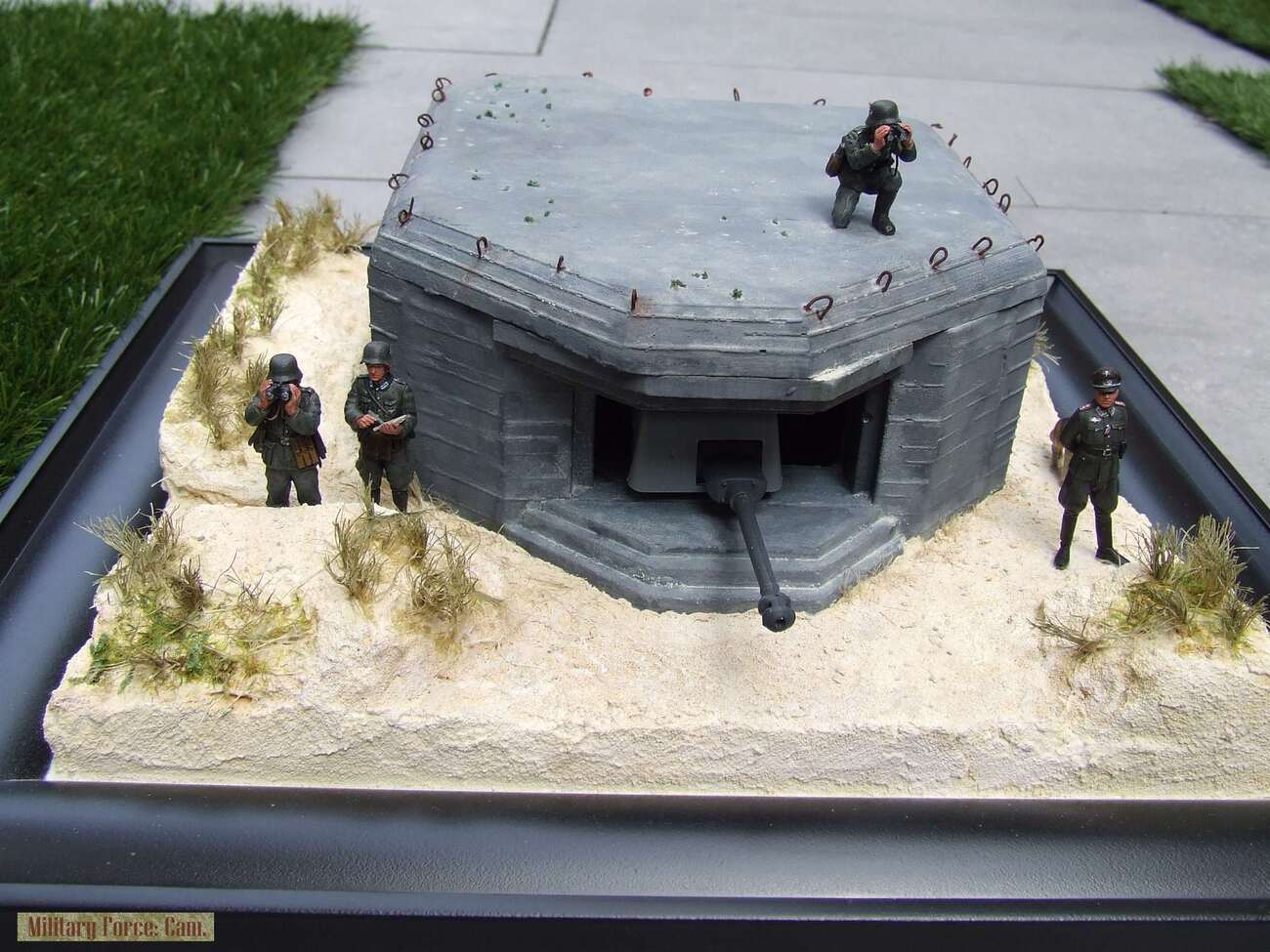 Atlantic wall casemat type 700. by vechtdalcollege