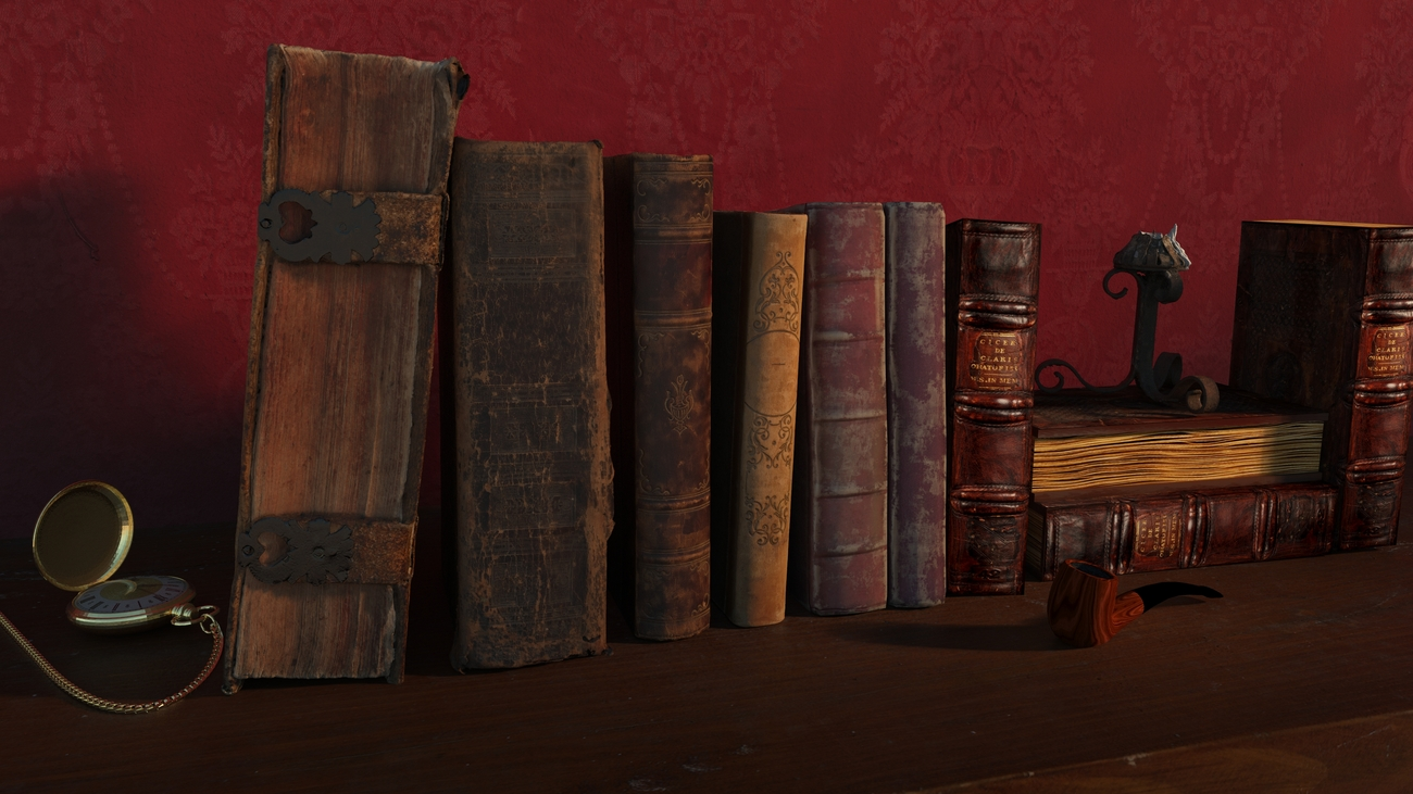 Old books by iborg64