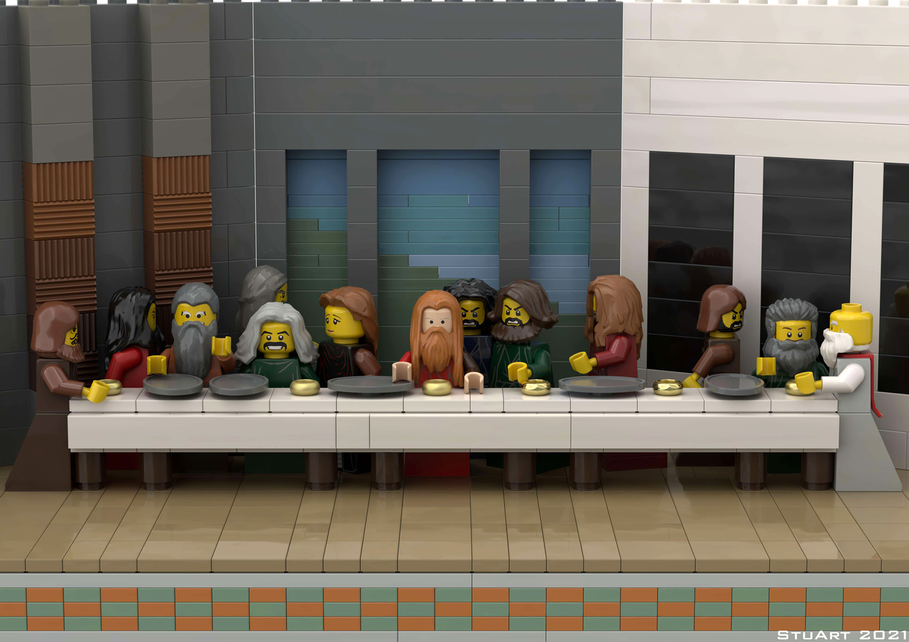 Last Lego Supper