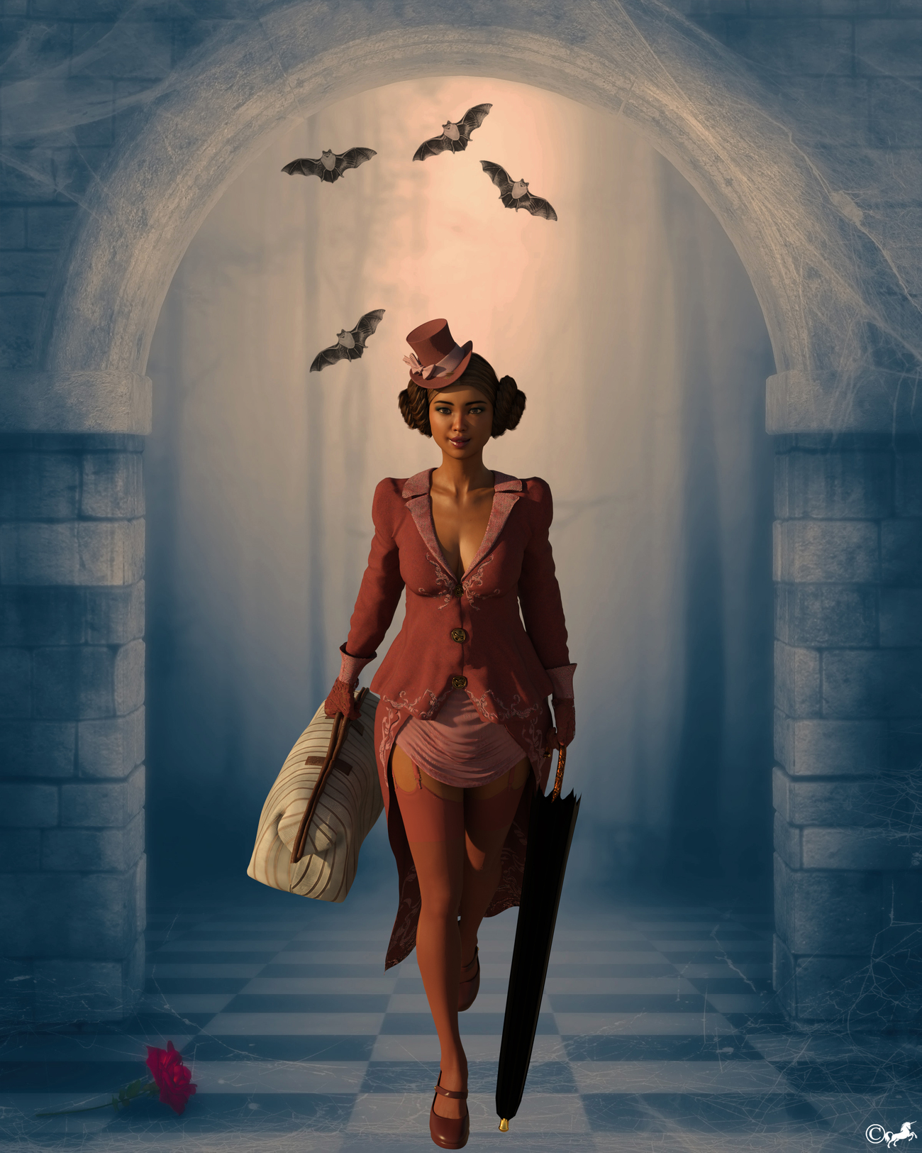 DAZ 1191b or Dorothe Poppins by miwi