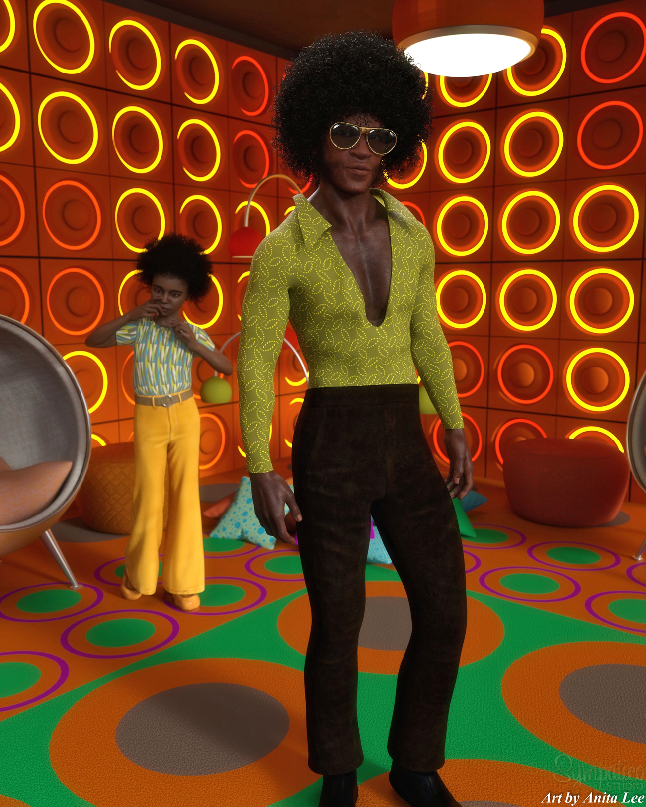 70s by anitalee