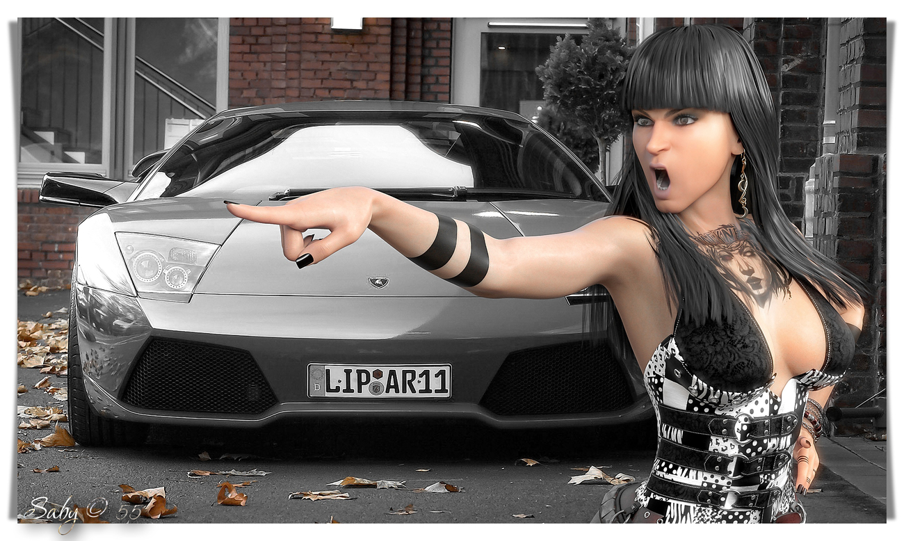 Don't you dare touch my car (2)