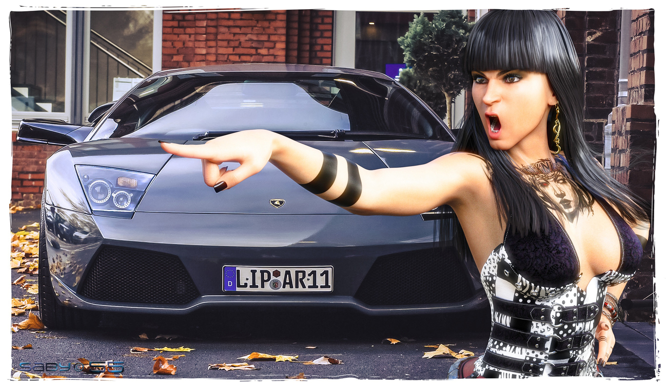 Don't you dare touch my car