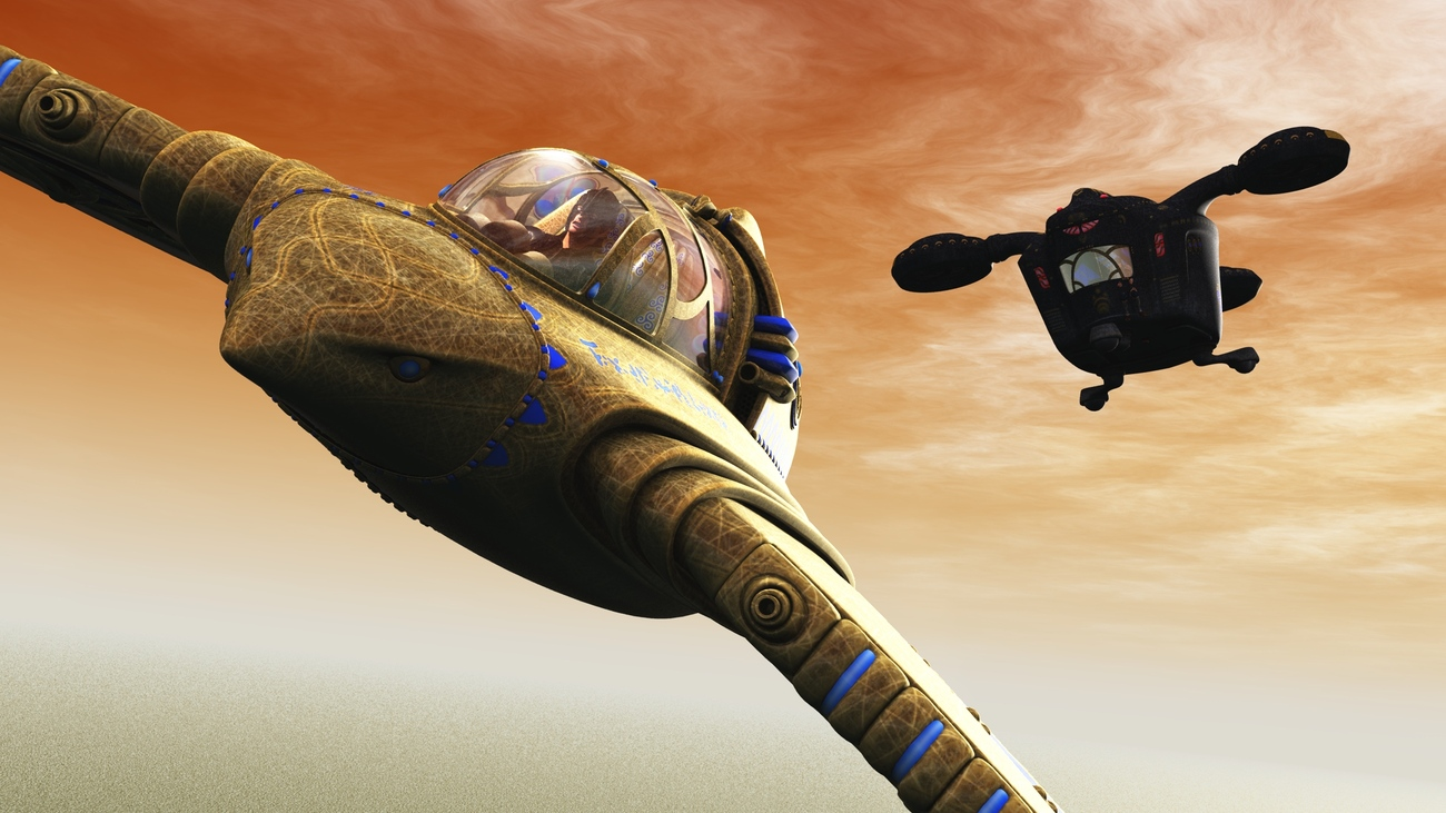 Egyptian Steampunk: The Pharaoh in Pursuit (POV2) by rps53
