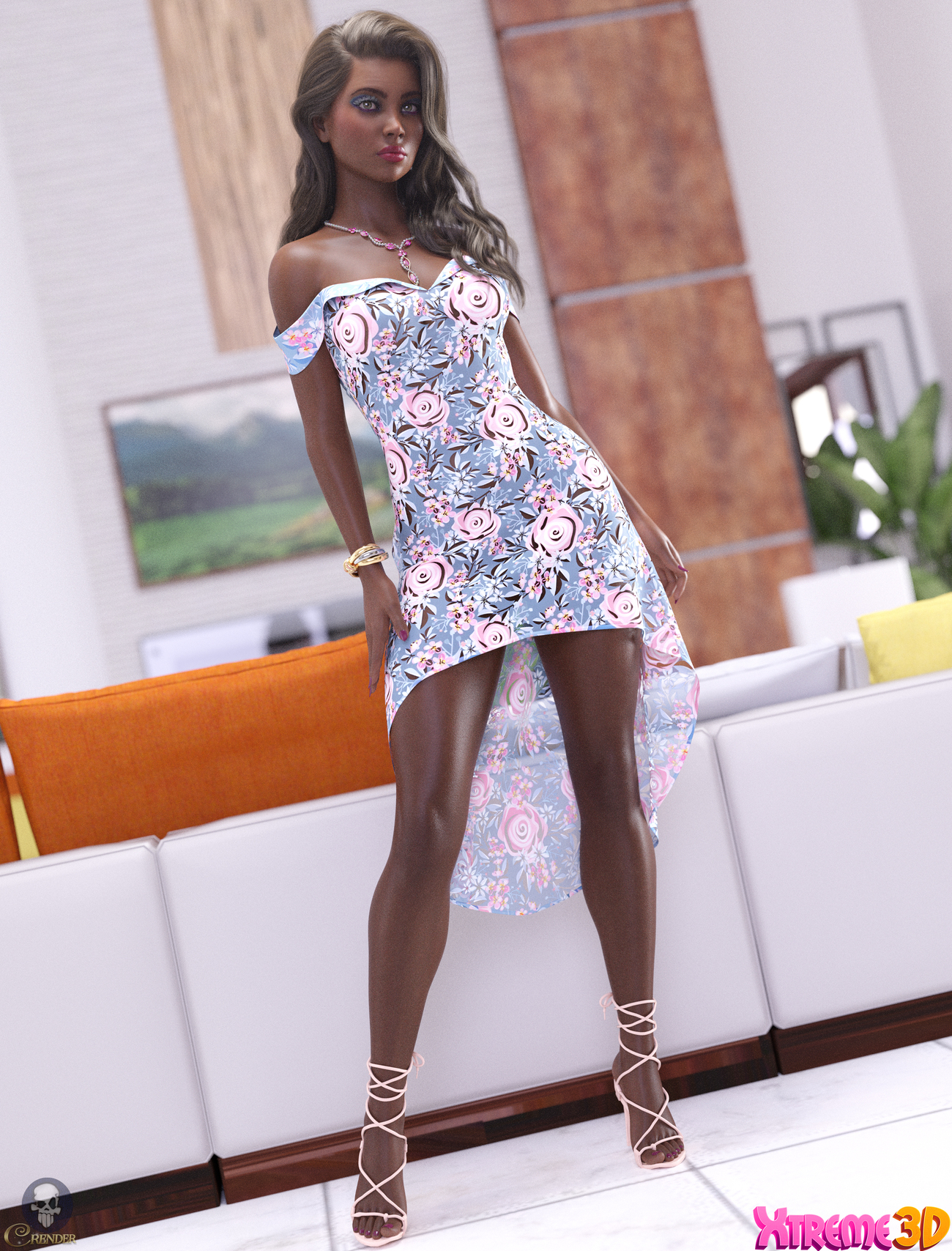 dForce Judy Outfit for G8.1F by Arryn