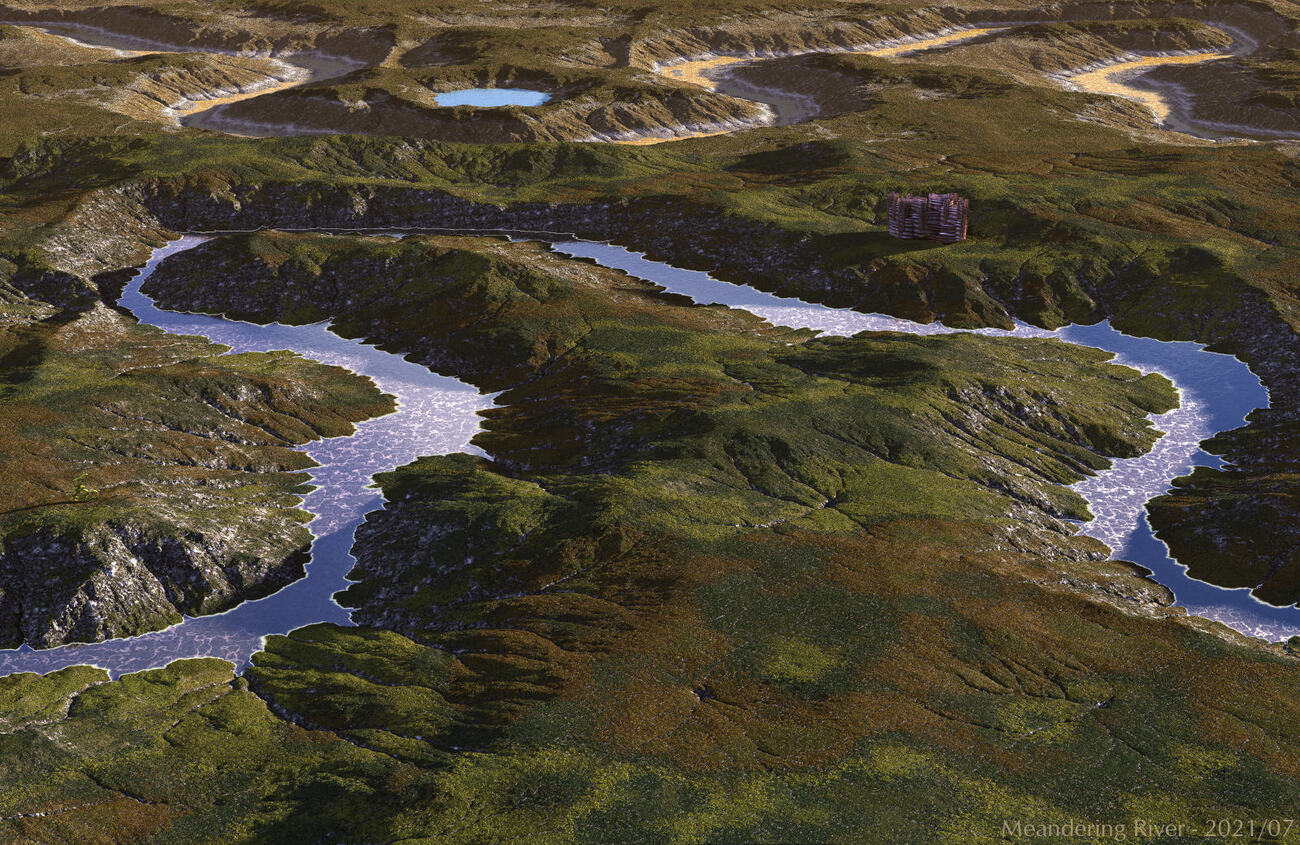 Meandering River by BryceHoro