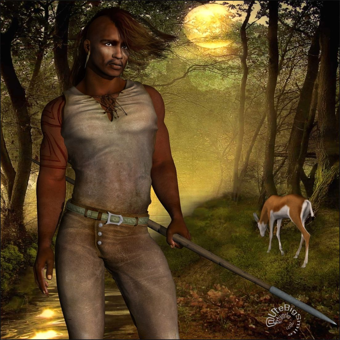 Zuri, the Man of the Woods!
