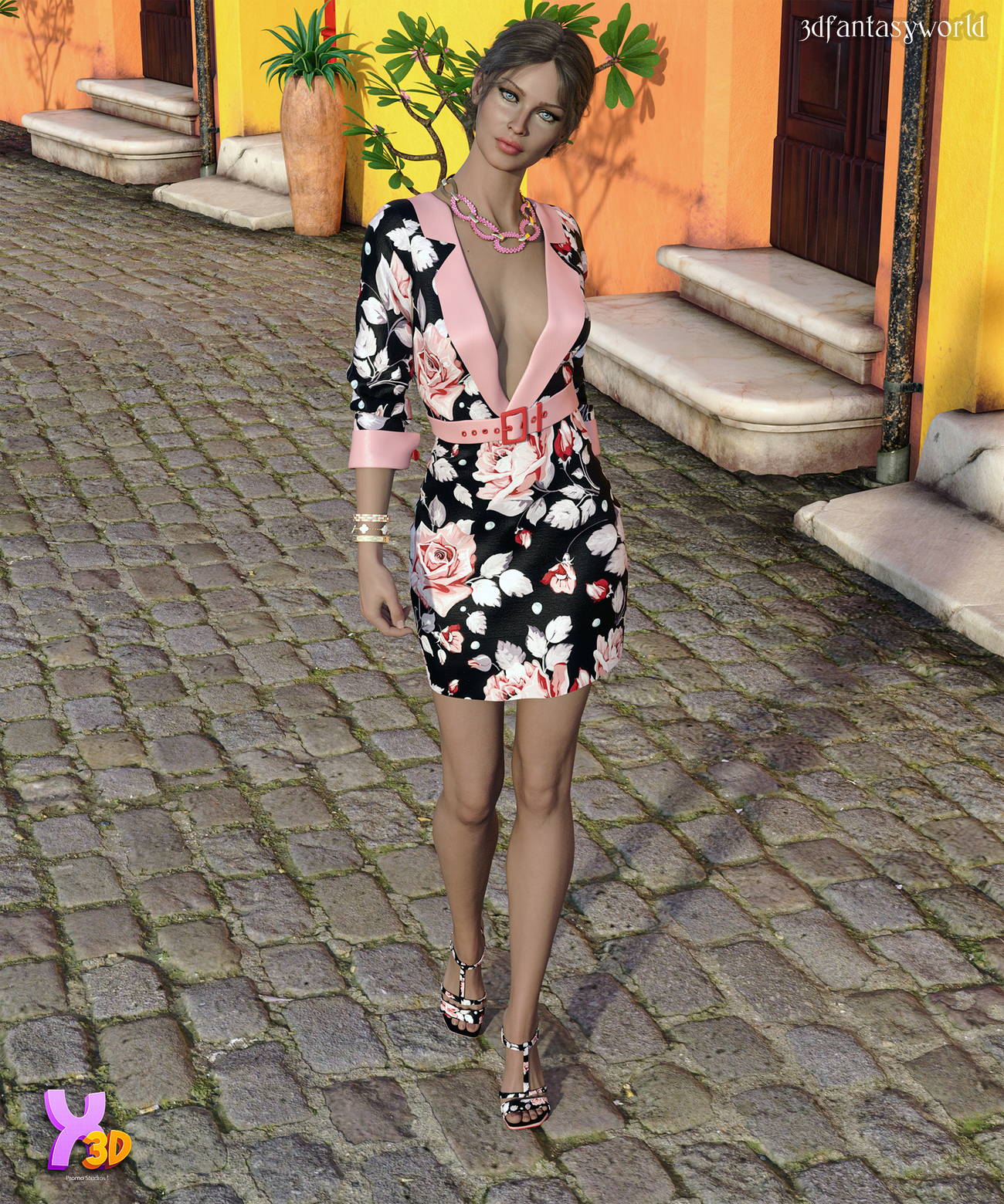 City Wear Callie Outfit G8.1F by fantasy3dworld
