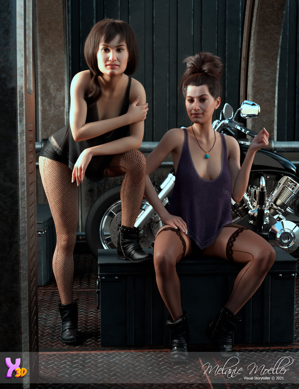 Aylen and Erinn for Rhiannon by Nyala