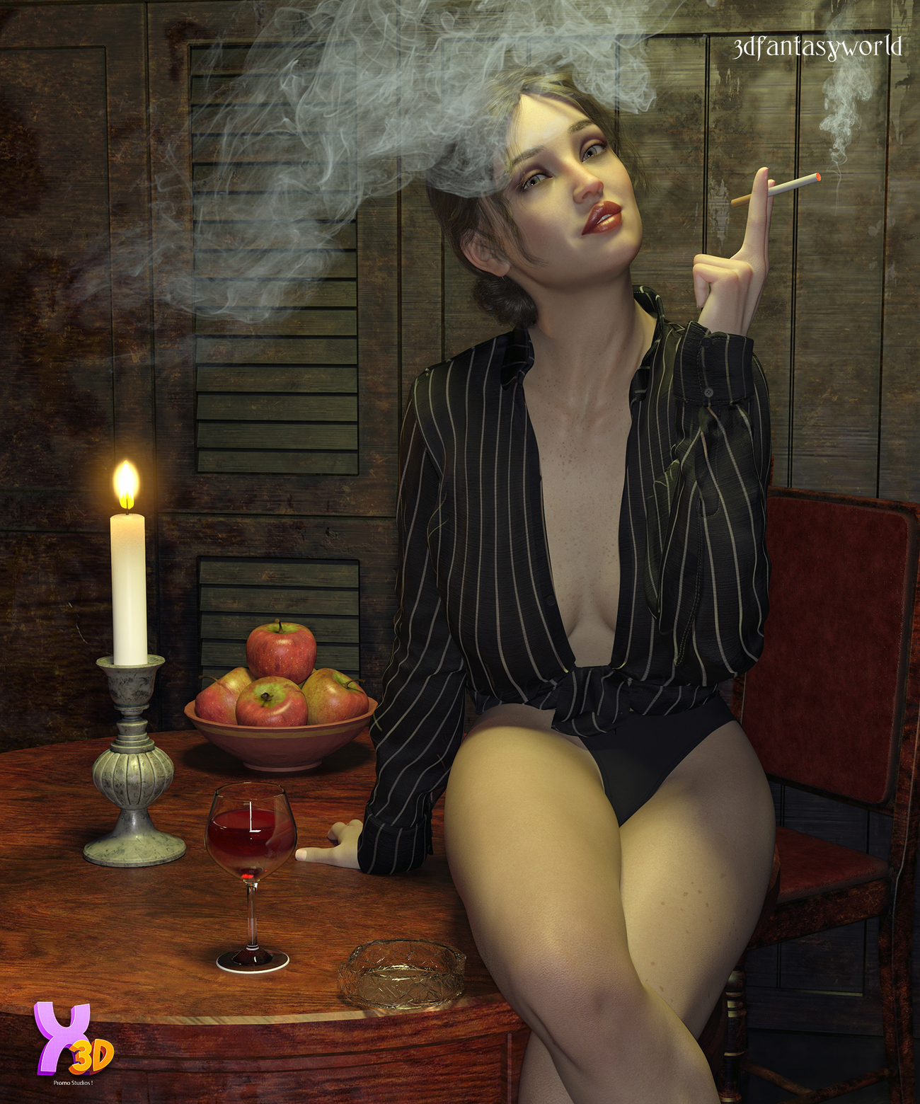 Hot Day dForce Outfit for G8F & G8.1F by fantasy3dworld
