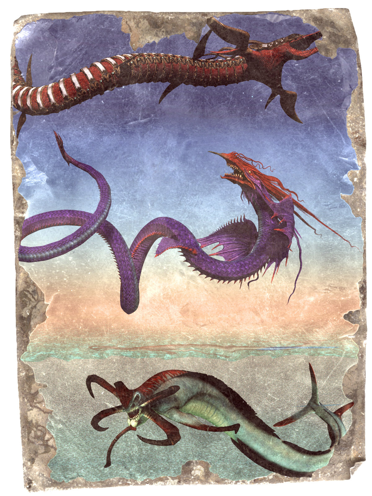 Sinuous Creatures by rps53