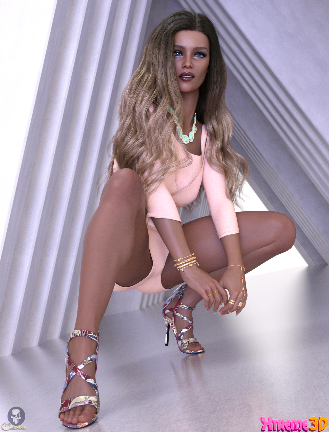 Shoes ReMake 2 for G8.1F by Arryn by crender