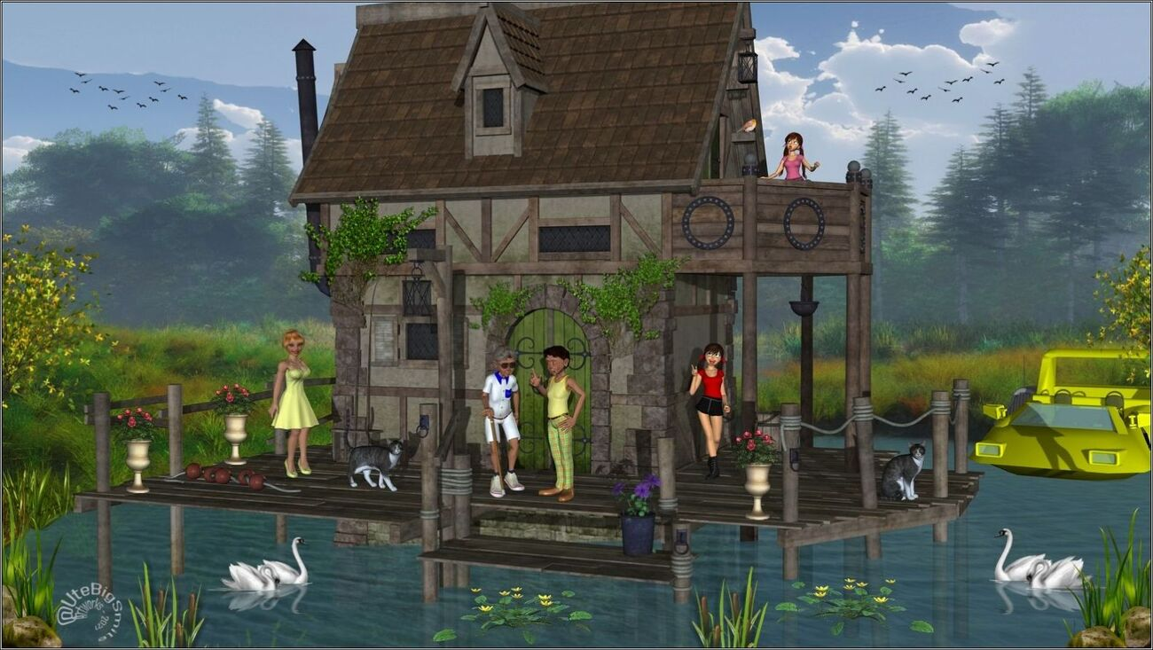 The old Cottage at the Lake! by UteBigSmile