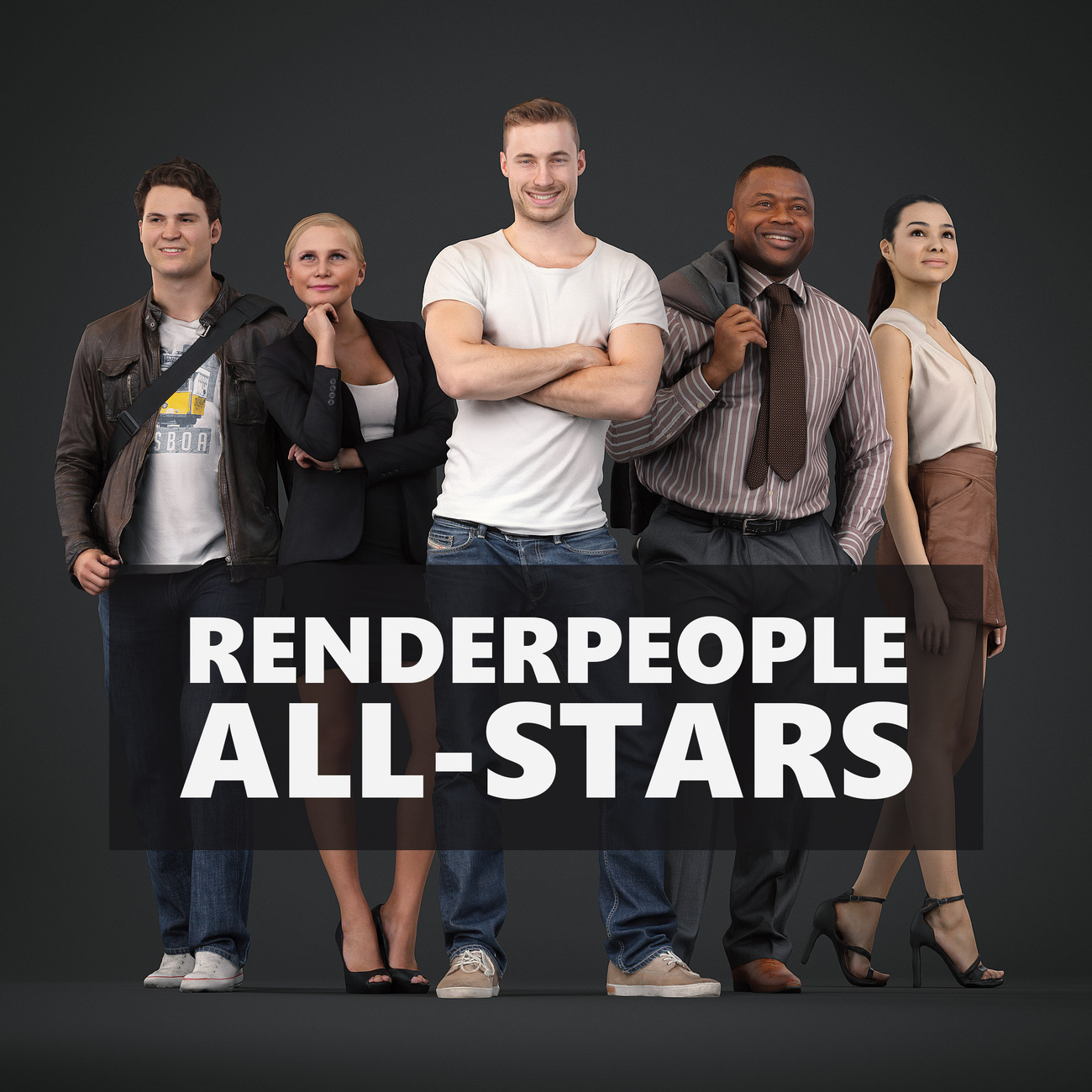 Renderpeople All-Stars Collection by Renderpeople