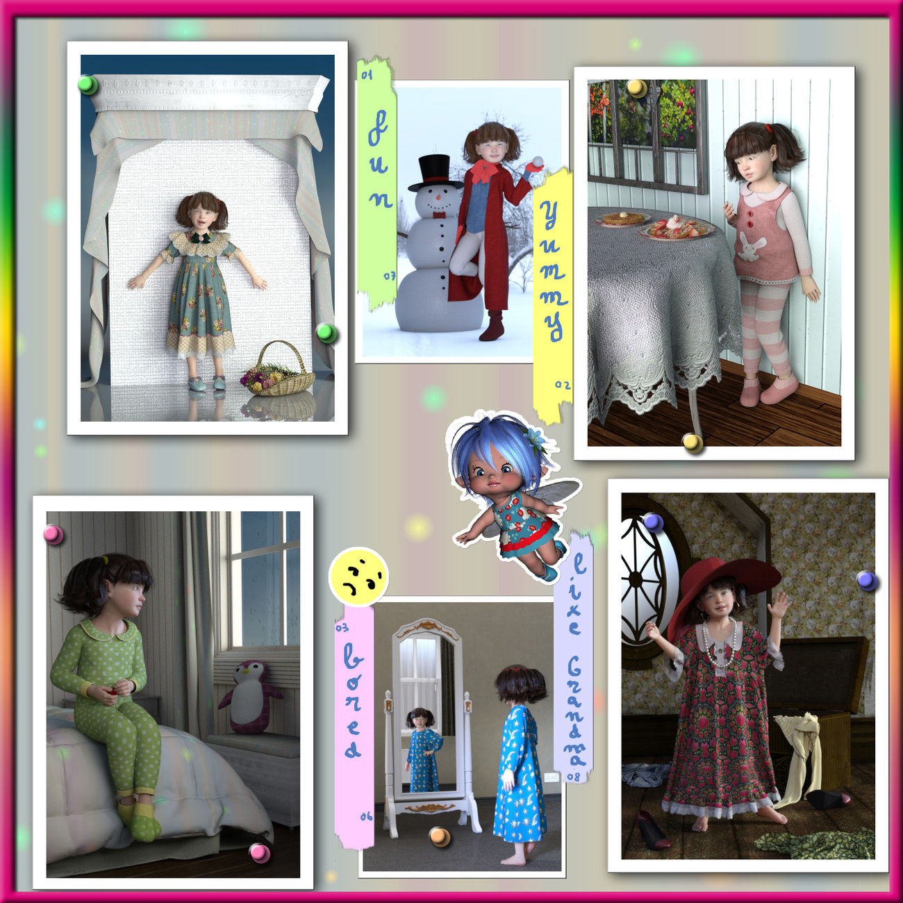 mn child fashion 5 to 6 Mary by mininessie