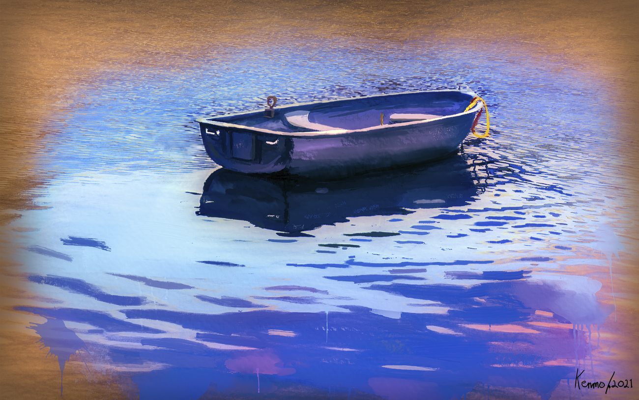 Boat in the Water by kenmo