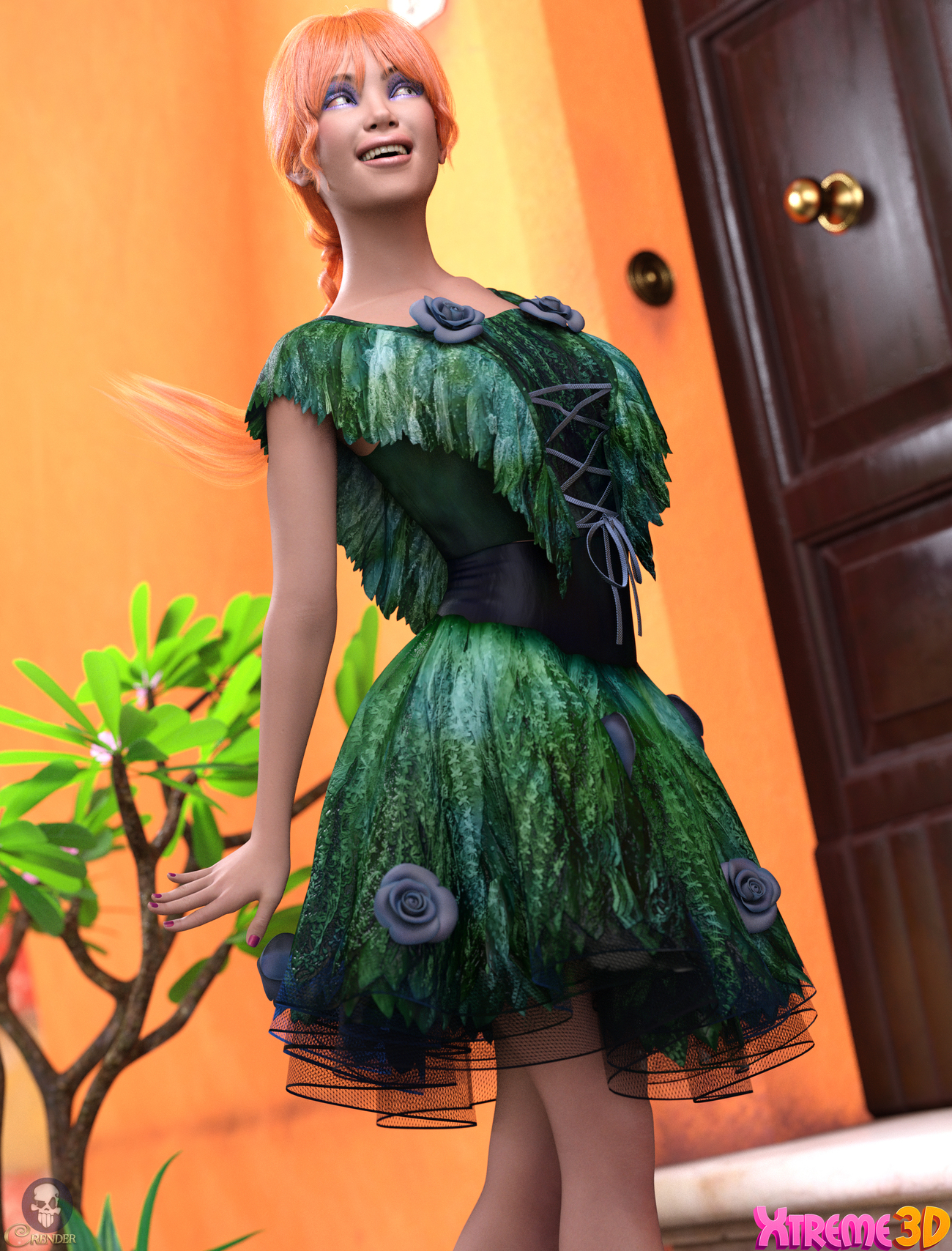 TDT-Alexandra for G8.1F by Deva3D by crender