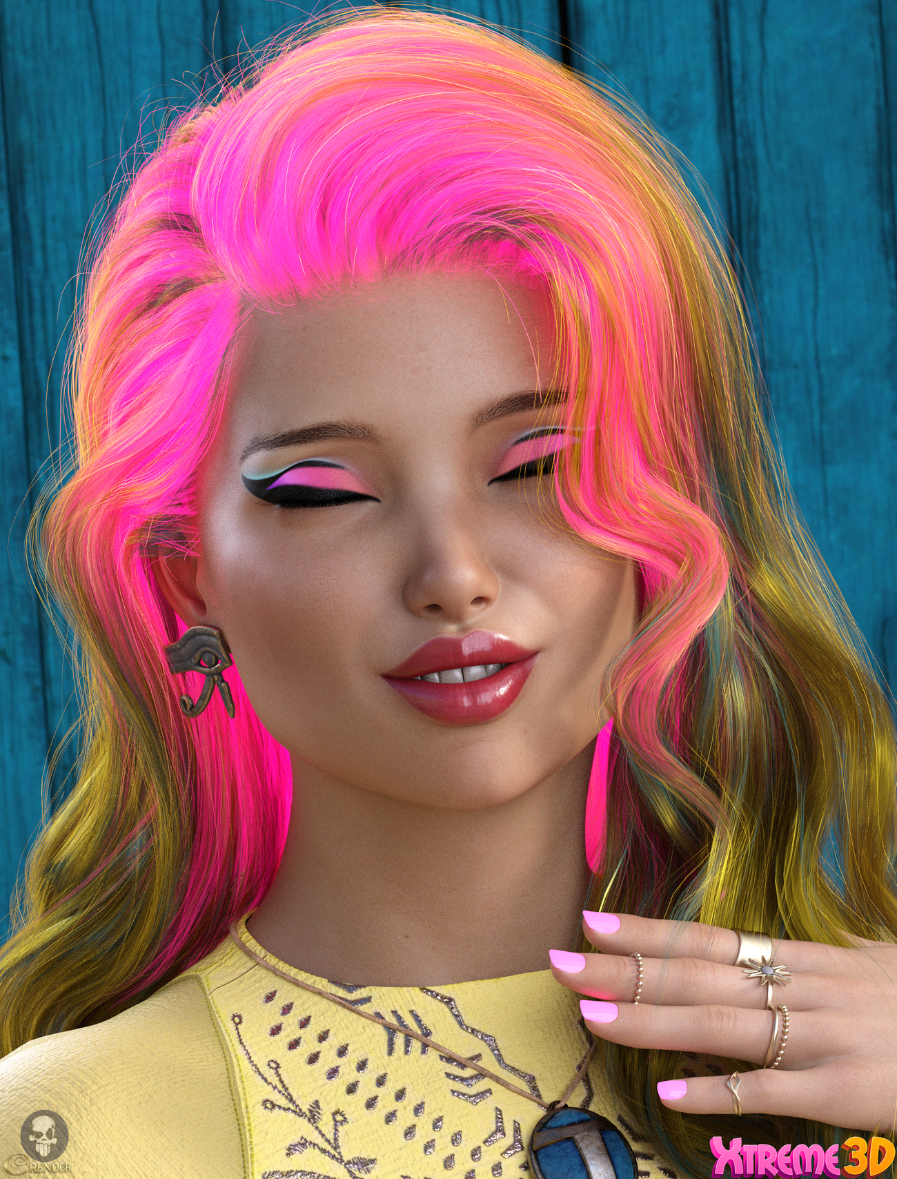 Twizted Complete Iray Hair Shaders by TwiztedMetal by crender