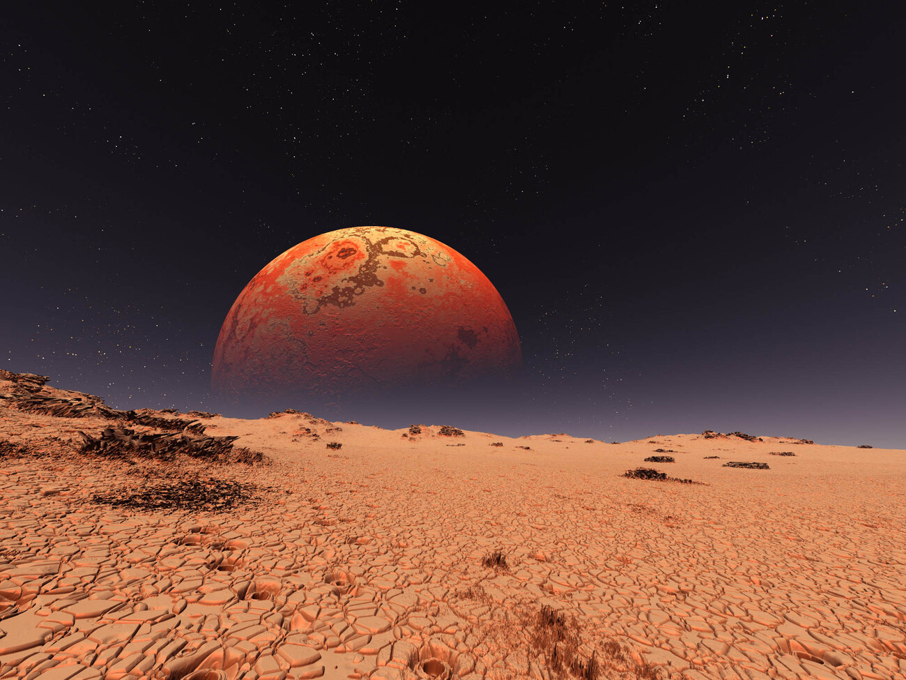 the red planet by prutzworks