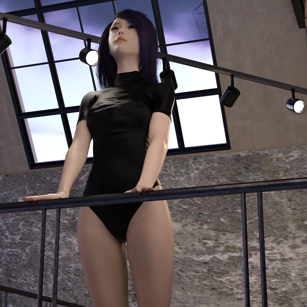 G8F in Japanese Swimsuit 02 Leotard style -3- by x7