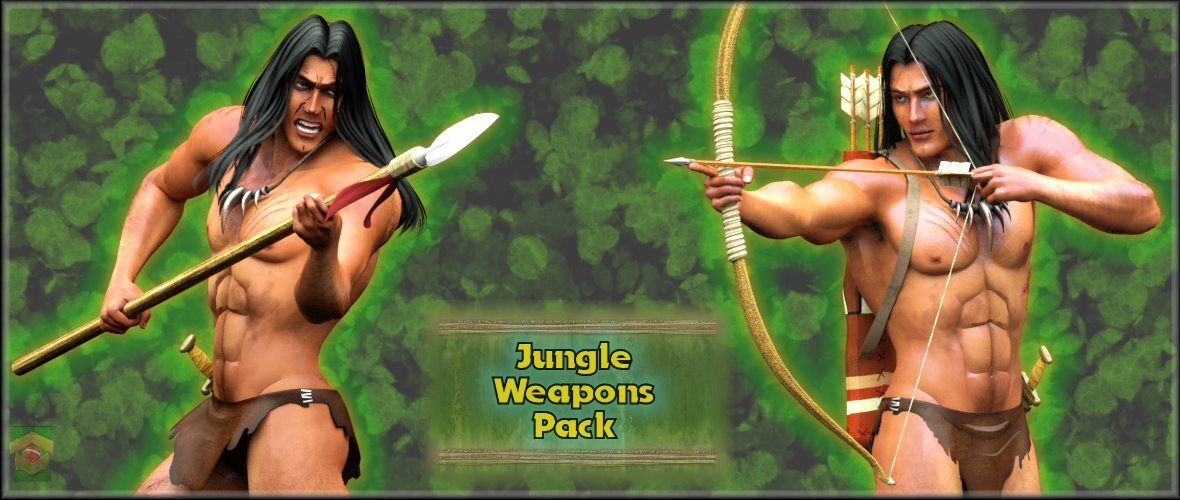 ~Jungle Weapons Pack~ by Ken1171_Designs