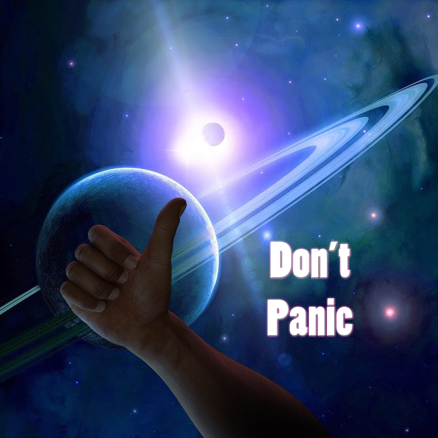 Don't Panic by poser4me