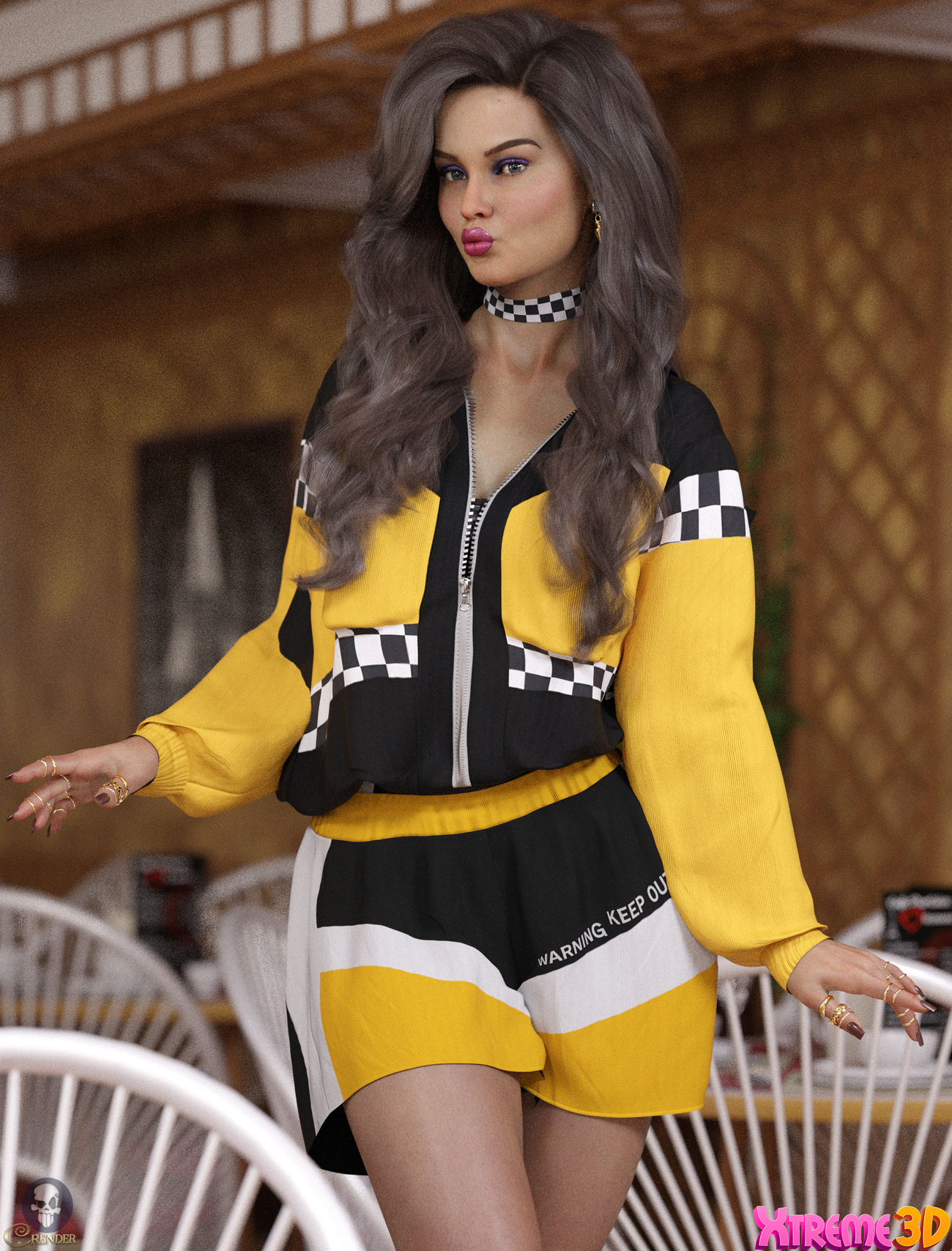 Pretty Little Thing dforce outfit by crender
