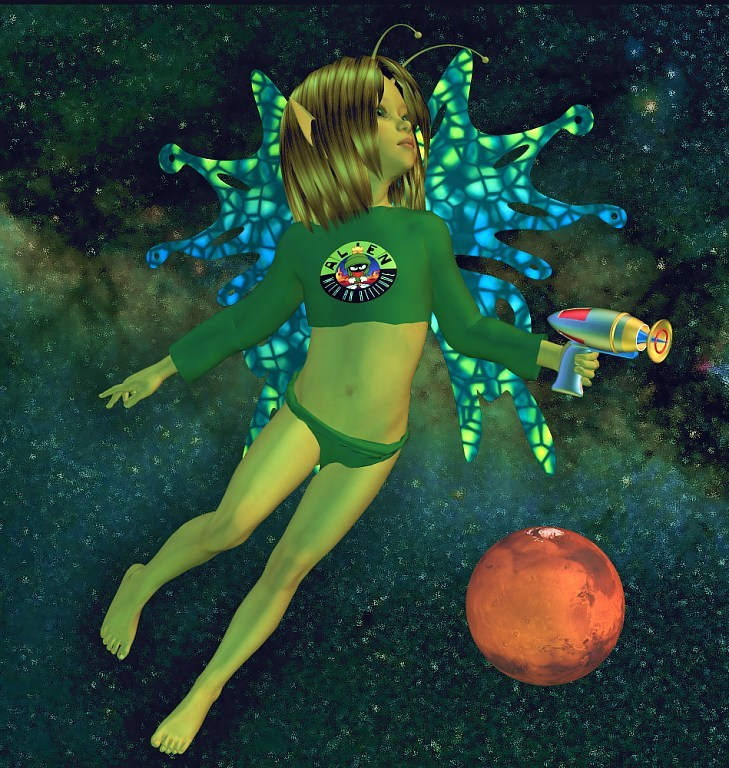 Faeries In Space