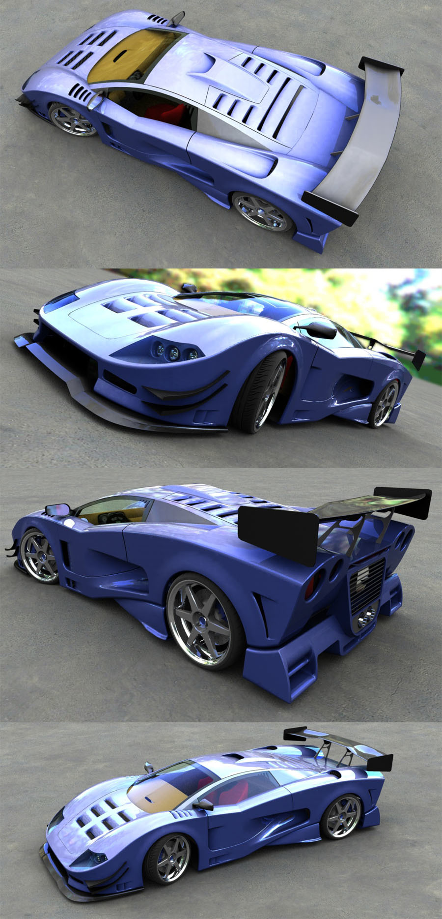 gts conceptcar finished,.... by sabaman